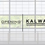 Opening Technologies Announces New Agreement with Kalwall Corporation